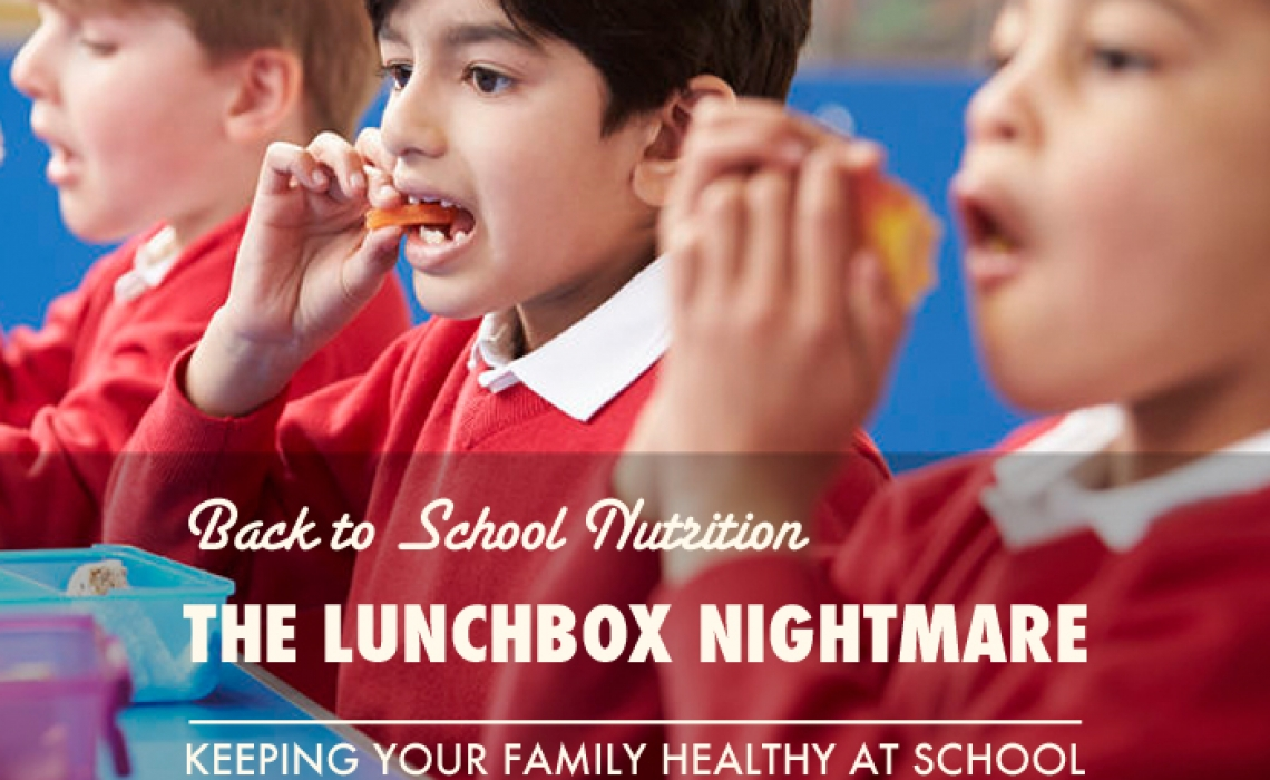 Back to School Nutrition: The Lunch Box Nightmare