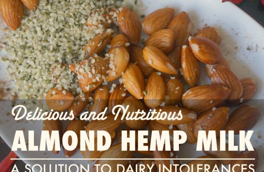 Homemade Almond Hemp Milk – Delicious Dairy Alternative