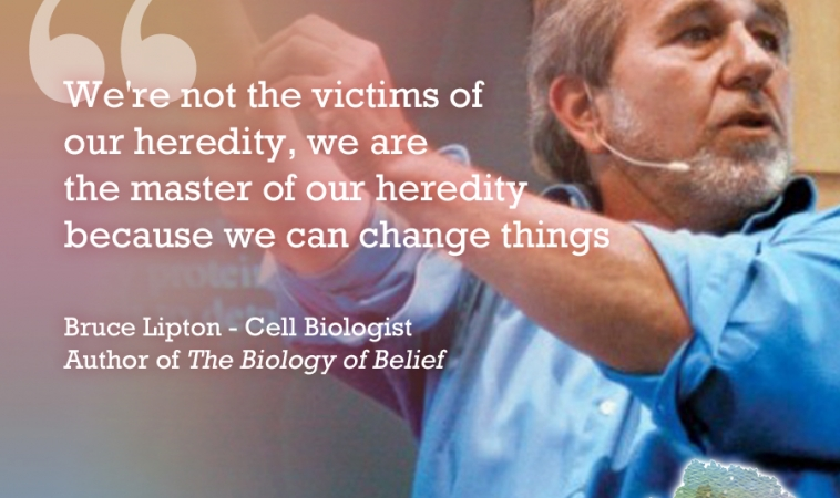 How Your Thoughts and Environment Control Your Genes with Bruce Lipton, PhD