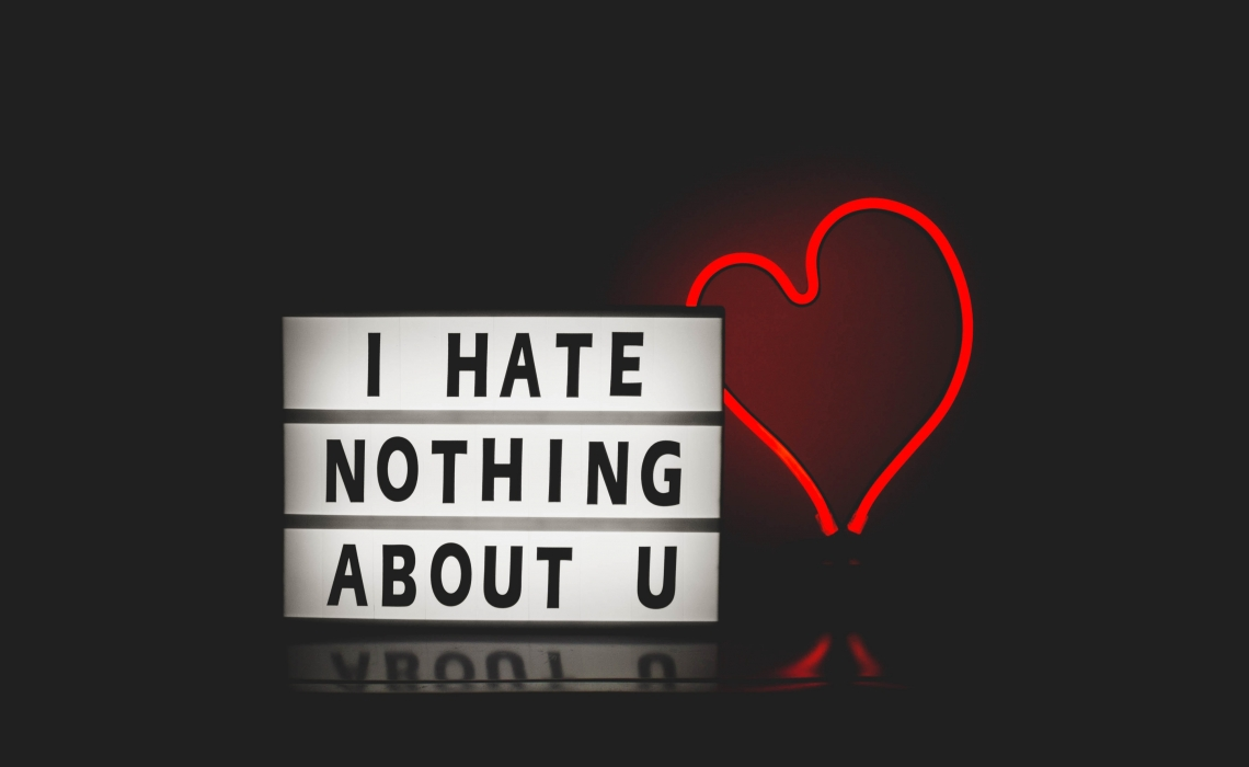 The Likeness Between Love and Hate