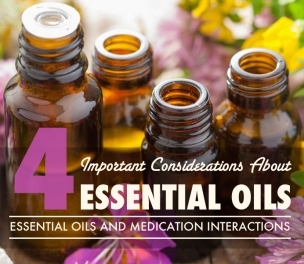 Essential Oils & Medication Interactions: 4 Important Considerations