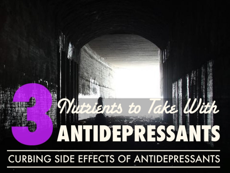 Taking Antidepressants? Top 3 Must-Have Nutrients