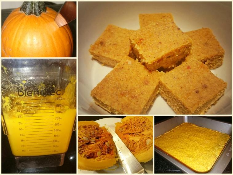 Pumpkin Bars: Purée and Simple