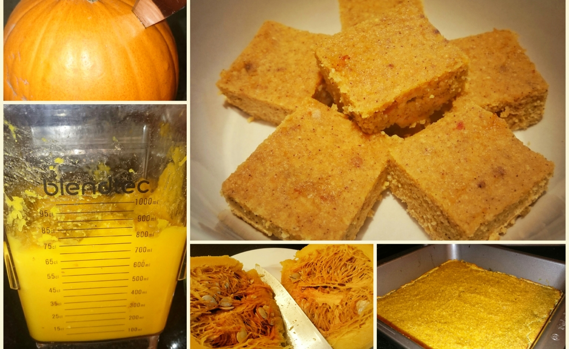 Pumpkin Bars: Purée and Simple