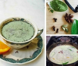 Comfort in a Healing Cup: How Matcha Chai Helped Me Remember My Dad (With recipe)
