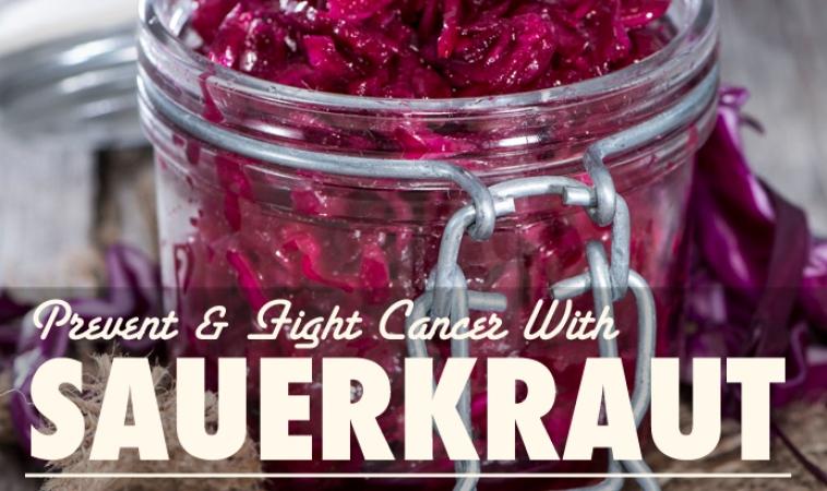 Make Your Own Sauerkraut to Prevent & Fight Cancer