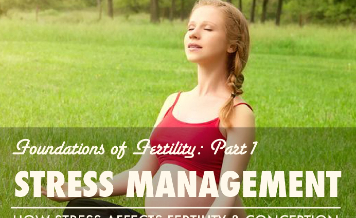 Foundations of Fertility Part 1: Stress Management