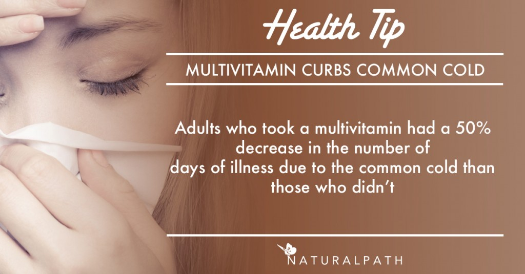 common cold health tip