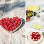 Raspberry Vanilla-Butter Bon Bons